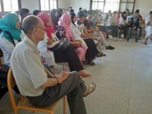 ثانوية 3 مارس التأهيلية بسيدي رضوان تنظم ندوة علمية حول ظاهرة الغش في الامتحان