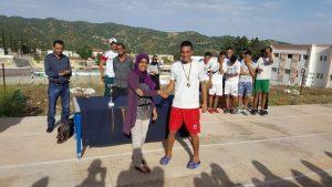 ثانوية سيدي بوصبر التأهيلية بمديرية وزان تختتم دوريَيْ كرة القدم ذكور وكرة السلة إناث
