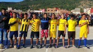 ثانوية 3 مارس التأهيلية بسيدي رضوان تنظم دوري المؤسسة في كرة القدم المصغرة