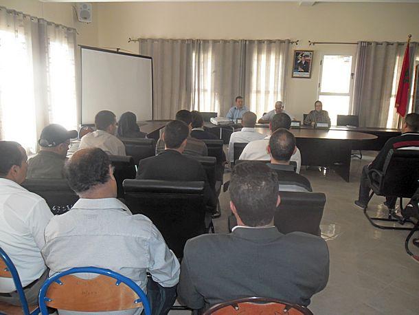 ورشة تكوينية لتعزيز قدرات منسقي أندية التربية على المواطنة وحقوق الإنسان بالمديرية الإقليمية لوزان