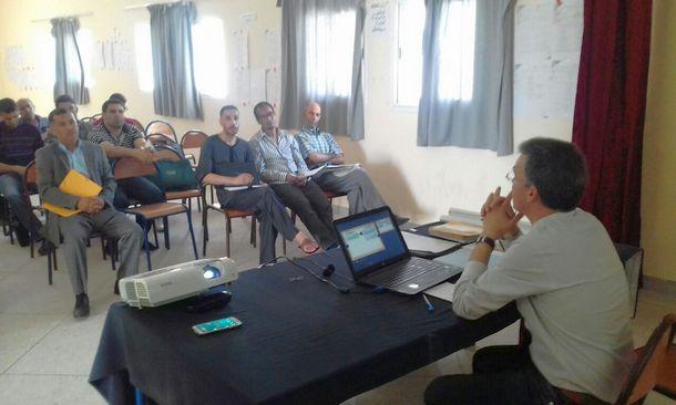 ثانوية سيدي بوصبر التأهيلية بمديرية وزان تنظم لقاء تواصليا لممثلي مؤسسة محمد السادس للنهوض بالأعمال الاجتماعية للتربية والتكوين مع منخرطي المؤسسة
