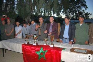 ثانوية محمد السادس التأهيلية بمقريصات تنظم دوريا في كرة القدم