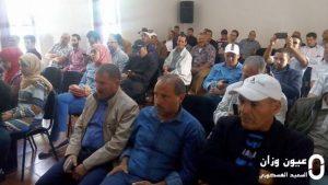 تجديد المكتب الإقليمي للعصبة المغربية للدفاع عن حقوق الإنسان بوزان