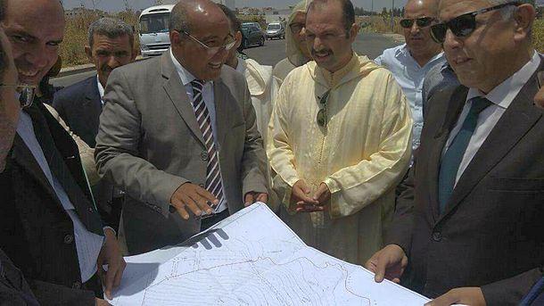 اللجنة المختلطة تتفقد البقعة الأرضية المخصصة لبناء المستشفى الإقليمي لوزان