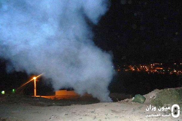 أزبال تحرق ليلا قرب أحياء سكنية بوزان